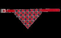 Trixie | Nylonhalsband mit Tuch - rot