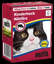 Bozita | Feline Häppchen in Gelee mit Rinderhack