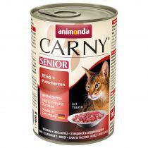 Animonda | Cat Dose Carny Senior Rind & Putenherzen