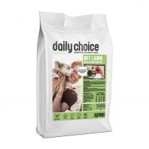 daily choice | Mit Lamm, Reis und Erbsen