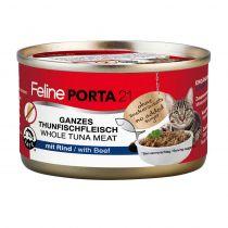 Feline Porta21 Dose Thunfisch mit Rind 24 x 90 g