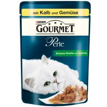 Gourmet | Perle Erlesene Streifen mit Kalb und Gemüse
