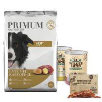 Primum | Probepaket Hund Soft | 1,5 kg + Nassfutter 2 x 400 g + Snack 70 g