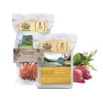 Wildes Land | Trockenfutter Sparpaket | 2 x 12 kg + Snack 250 g |  1