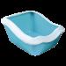 Trixie   Cleany Cat   Kunststoff,blau 1