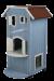 Trixie | Cat´s Home | Holz,blau 1
