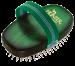 Hunter   Hundeschweifbürste oval Buche grün   grün 1