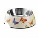Hunter   Melanin-Napf Butterfly weiß   Edelstahl,weiß 1