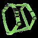 Wolters | Geschirr Basic in Lime | Nylon,grün 1