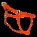 Wolters   Geschirr Basic One-Touch in Orange   Nylon,orange 1