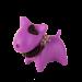 Wolters | PicoBello Gassi-Box in Fuchsia/Schwarz | rosa,lila 1
