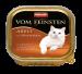 Animonda | Vom Feinsten Adult mit Hühnchenleber | Geflügel,Nassfutter,Schälchen 1