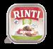 Rinti | Bio-Kennerfleisch + Rind | Glutenfrei,Bio,Getreidefrei,Rind,Nassfutter,Schälchen 1