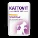 Kattovit | Feline Diet Sensitive mit Huhn und Pute | Glutenfrei,Sensitive,Geflügel,Nassfutter 1