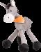 Trixie   Esel   Plüsch,grau 1