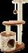 Trixie | Kratzbaum Casta | Plüsch,Sisal,beige 1
