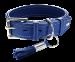 Hunter | Halsband Cannes in Blau | Leder,blau 1