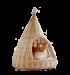 SILVIO DESIGN | Katzen-Hängekorb Sammy | Naturgeflecht,beige 1