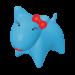 Wolters   PicoBella Gassi-Box in Aqua   Kunststoff,blau 1