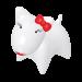 Wolters | PicoBella Gassi-Box in Weiß | Kunststoff,weiß 1