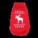 Wolters | Strickpullover mit Elch - rot/weiß | Strick,rot 1