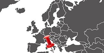 Weltkarte Malta