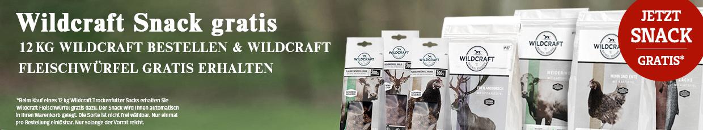 Wildcraft Sale Fleischwürfel gratis