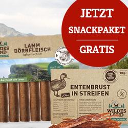Wildes Land Aktion Snackpaket Gratis