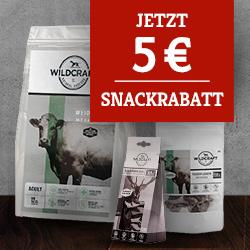 Wildcraft 5€ Snackrabatt