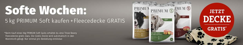 PRIMUM Soft Aktion - Fleecedecke gratis
