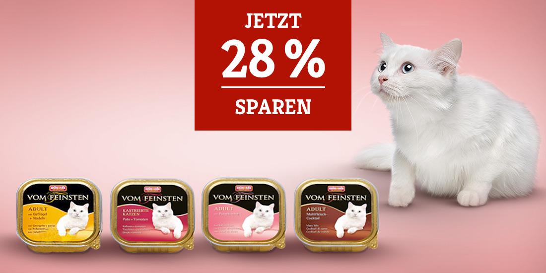 Animonda Vom Feinsten Nassfutter für Katzen 28% sparen