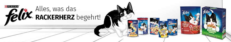 Felix - Schmackhafte Katzennahrung