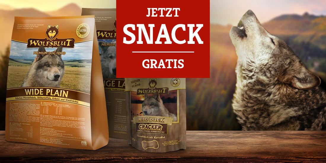Wolfsblut Trockenfutter 15kg kaufen + Wild Duck Cracker Gratis