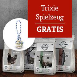 Wildcraft Trockenfutter Aktion - Trixie Hundespielzeug gratis