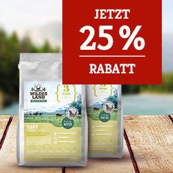 Wildes Land Soft Aktion - 25% Rabatt auf 2. 5kg Sack