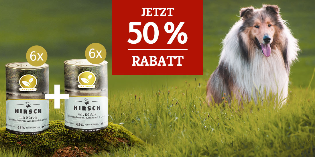 Natural Nassfutter Aktion_50% Rabatt auf 2. Set