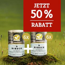 Natural Nassfutter Aktion_50% Rabatt auf 2. Set