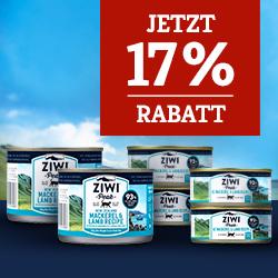 Ziwi Nassfutter Aktion - 10+2 bzw. 20+4