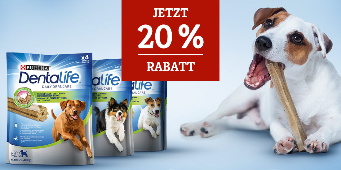 DentaLife 20% Rabattaktion