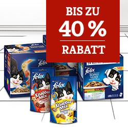 Felix Rabattaktion bis 40%