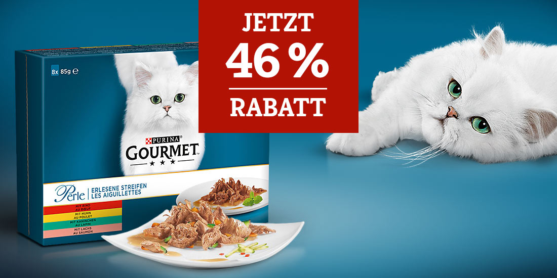 Gourmet Perle 46% Rabattaktion