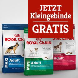 Royal Canin Size Hundefutter Kleingebinde gratis