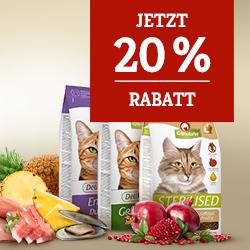 Granatapet Katzenfutter Trockenfutter 20% sichern