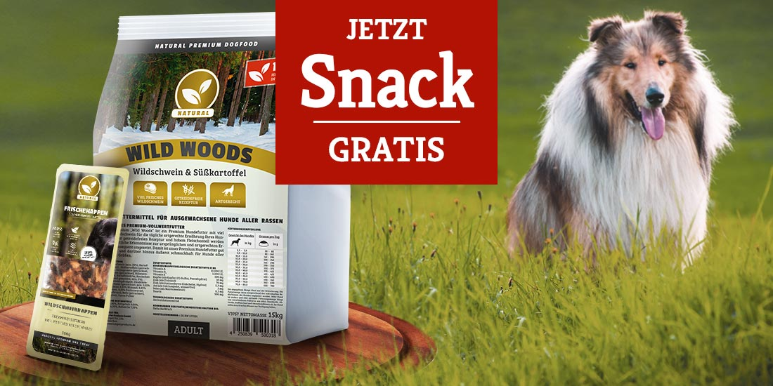 Natural Trockenfutteraktion - Natural Frischehappen gratis