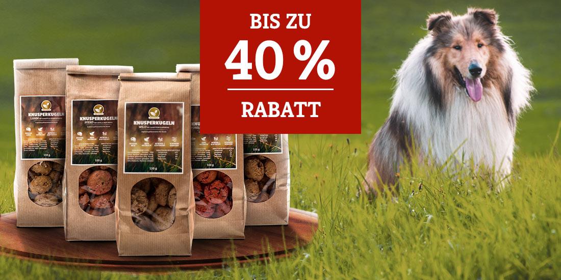 Natural Knusperkugeln nur 3€ - bis zu 40% Rabatt
