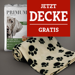 PRIMUM Softfutter Aktion - Trixie Beany Fleecedecke gratis