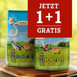 Mac's Katzenfutter Trockenfutter Aktionspaket 1,5 + 1,5kg gratis