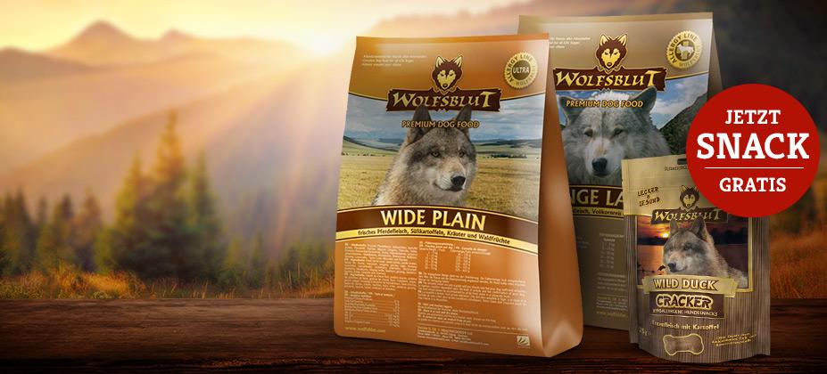 Wolfsblut Wild Duck Cracker Gratis