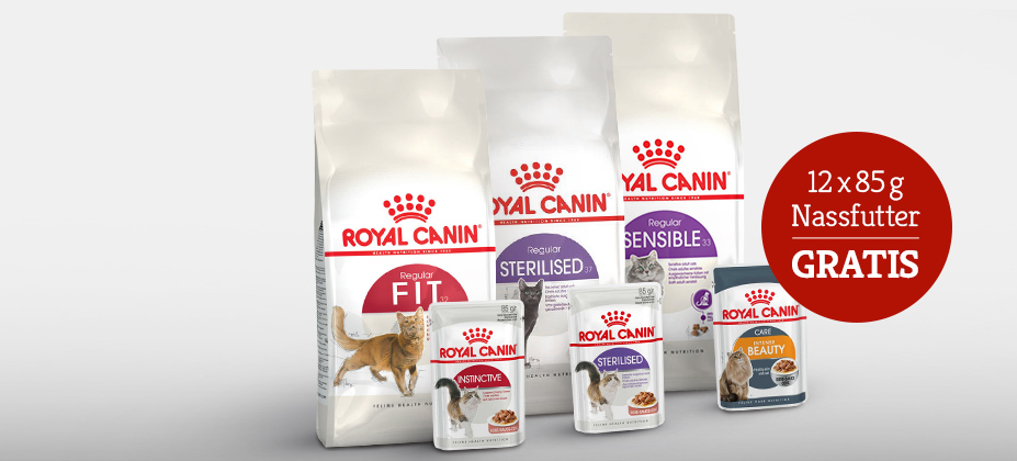Royal Canin Mischfütterungsaktion