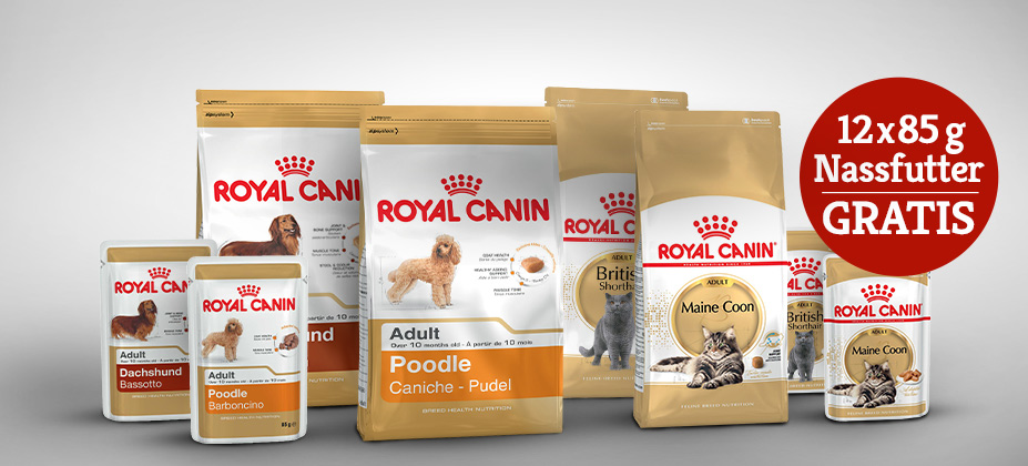 Royal Canin Mischfütterungsaktion